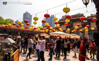 Man Mo and Wong Tai Sin Temple Hongkong