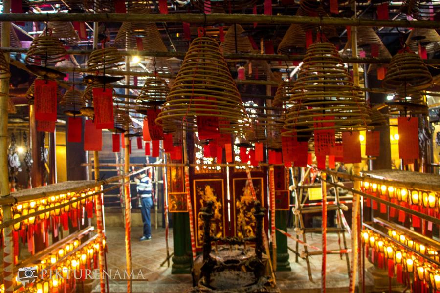 Wong Tai Sin temple HongKong and Man Mo Temple 33