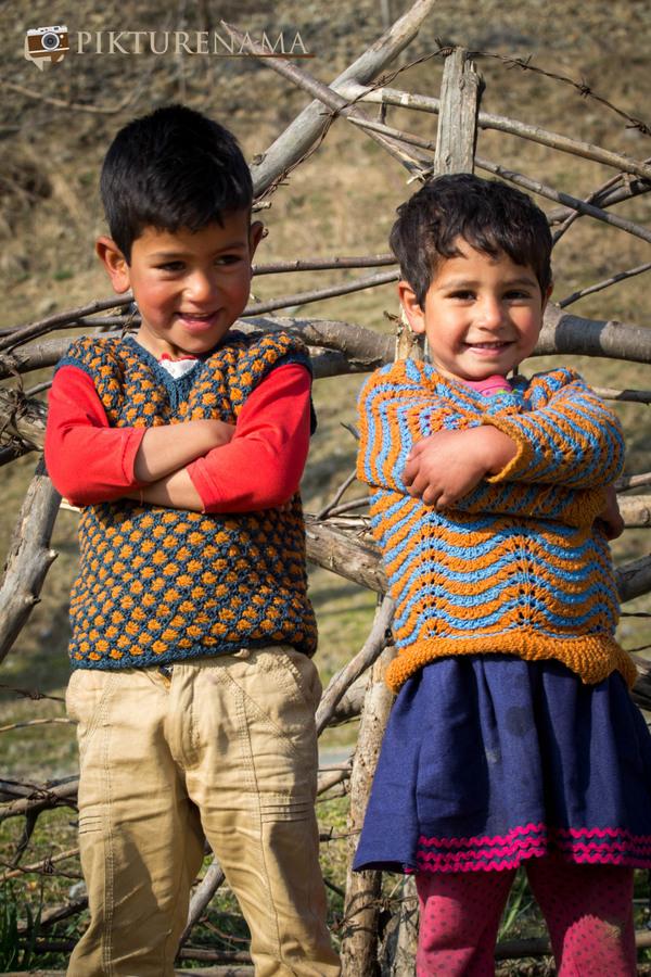 Faces of Kashmir apple orchard 9