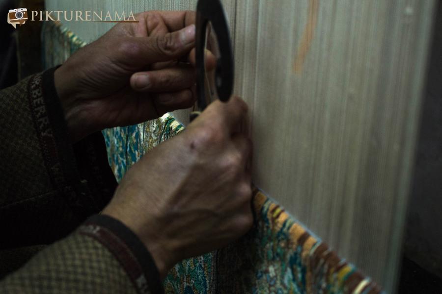Faces of Kashmir carpet weaver 10