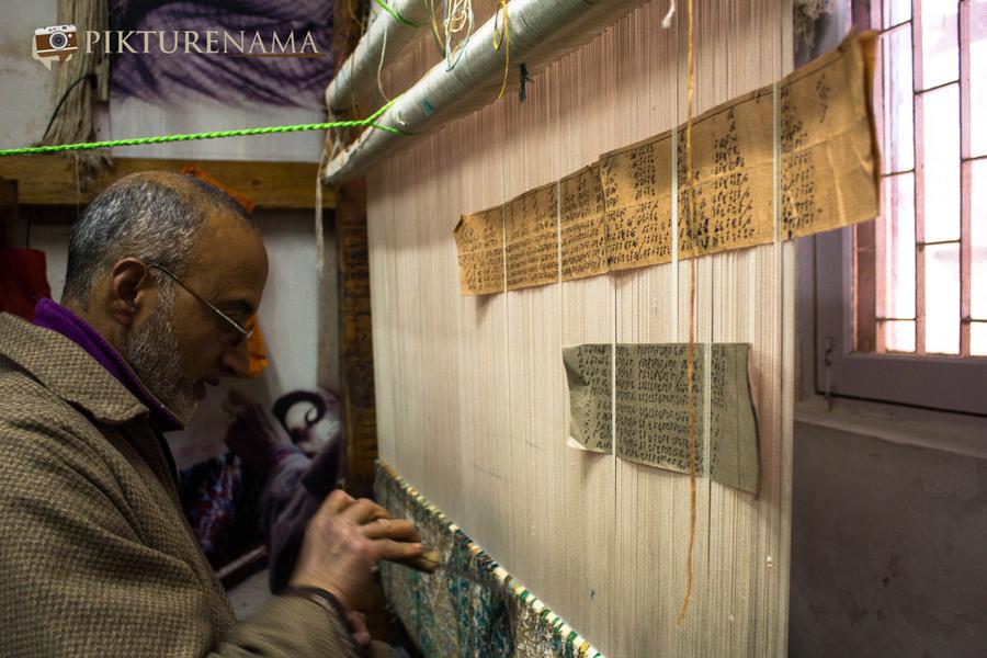 Faces of Kashmir carpet weaver 7