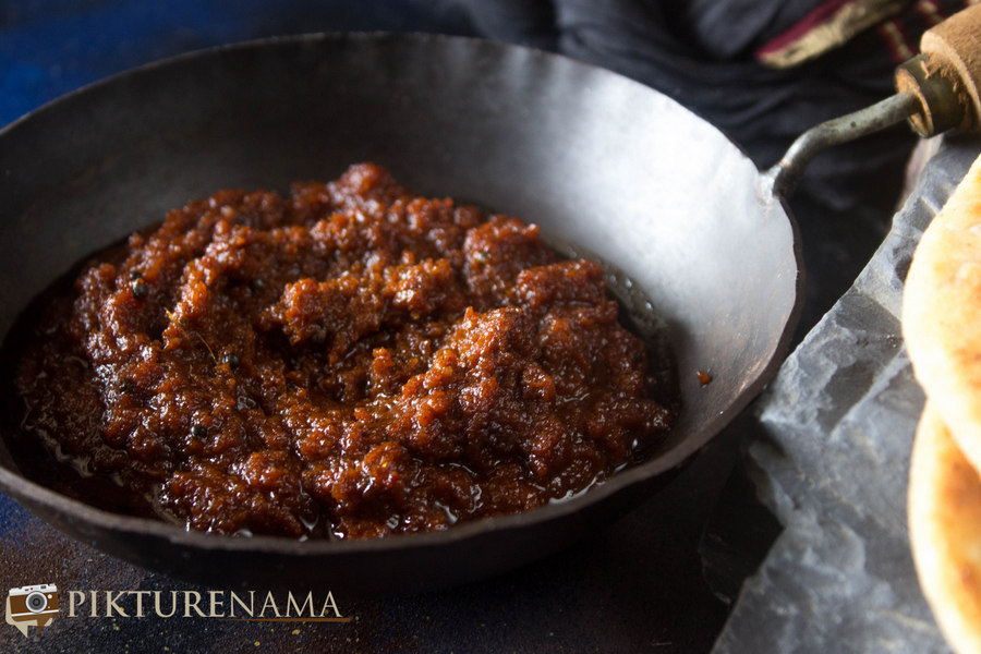 Lahsun ki Chutney – you cannot imagine how quickly it ended