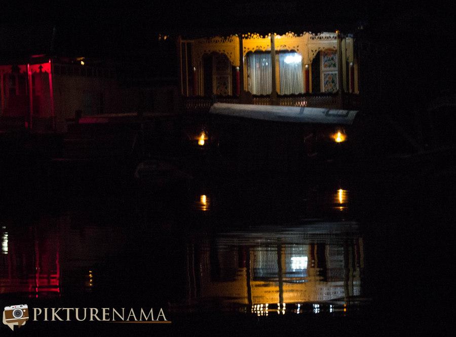 Kashmir Houseboat night - 5
