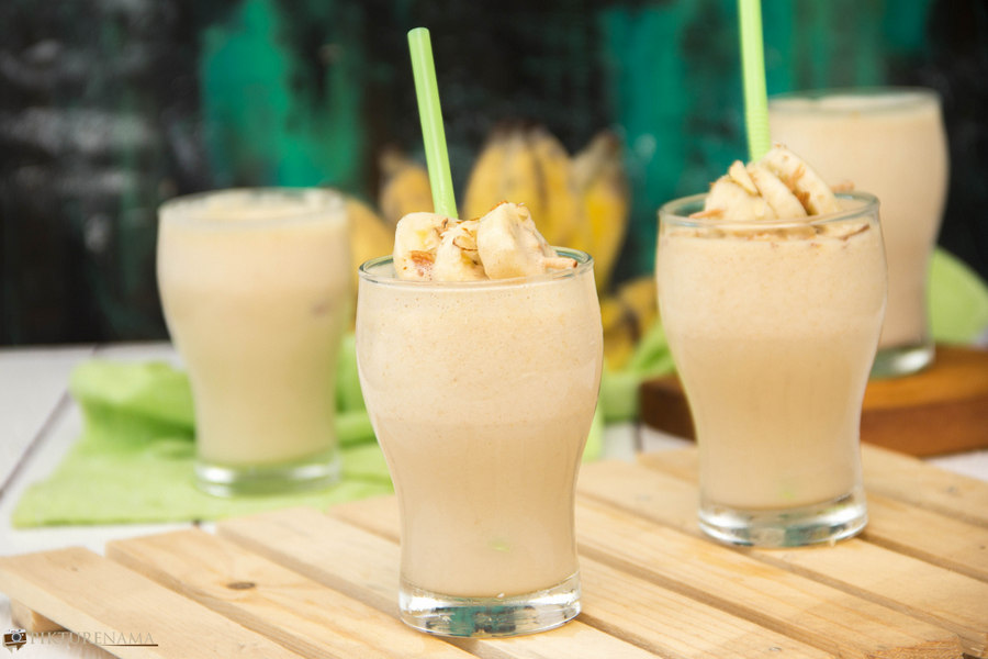 Peanut butter Protein Shake - 5