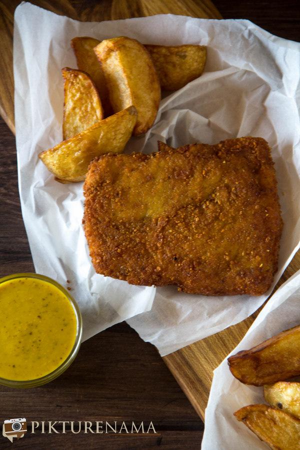 kolkata style fish fry with cheese - 3