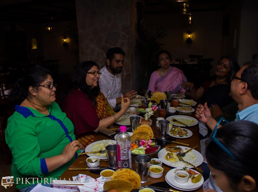 Doi Ilish at Taj Bengal ghoti or Bangal