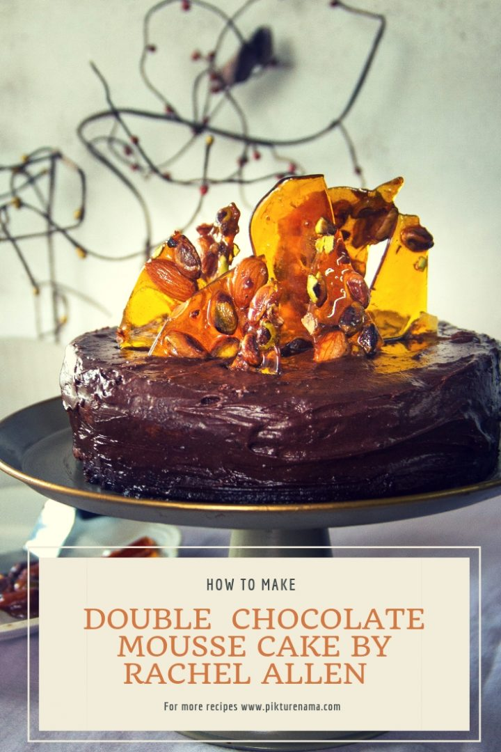 Double chocolate Mousse cake by Rachel Allen - 9
