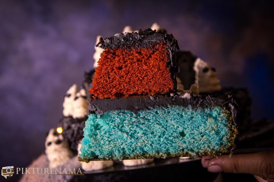 Halloween Ghost cake - 14