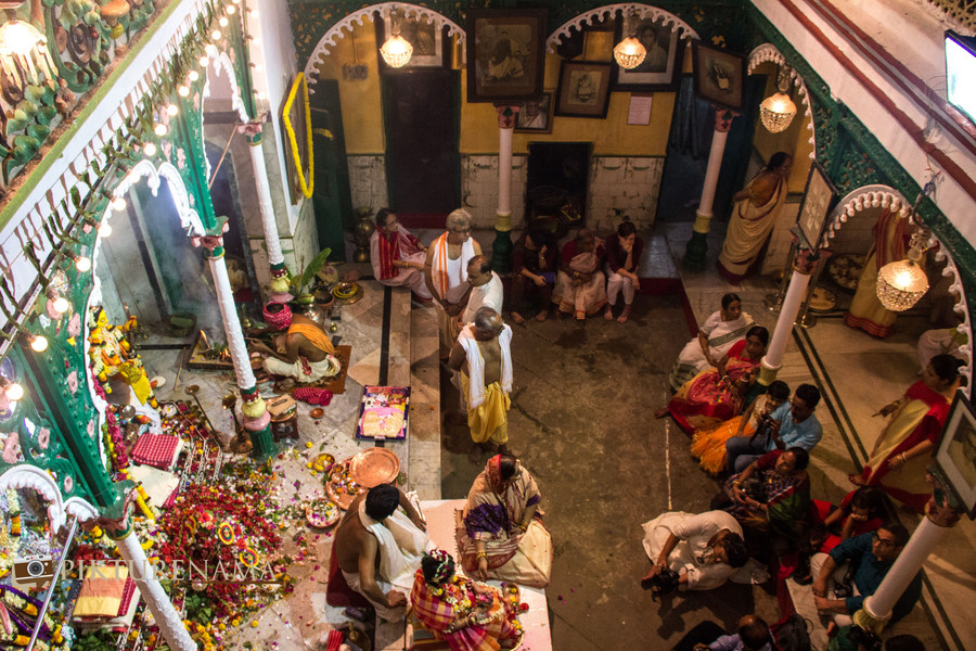 Elements of nature in Durga Puja – A photostory