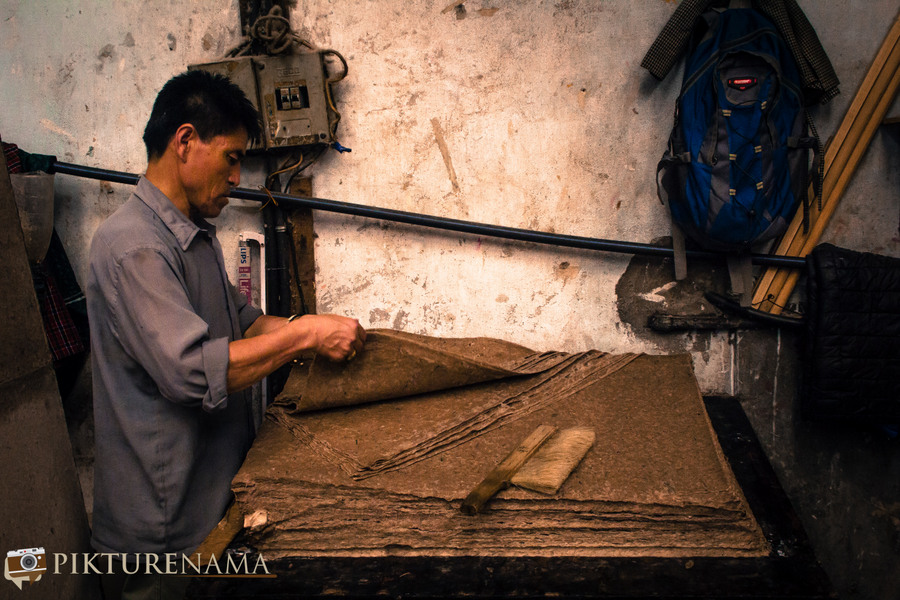 Jungshee Paper Mill Thimpu BhutanJungshee Paper factory Thimpu Bhutan - 14