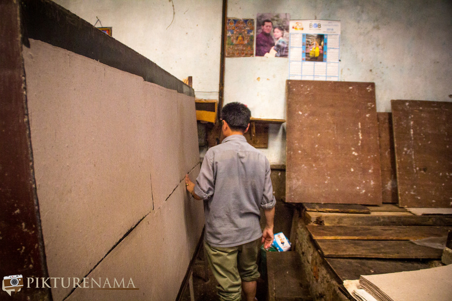 Jungshee Paper factory Thimpu Bhutan - 15