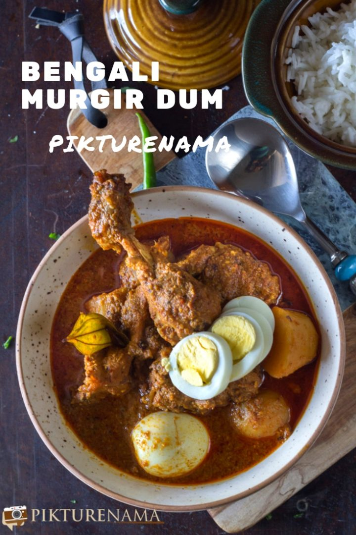 Bengali Murgir Dum pinterest