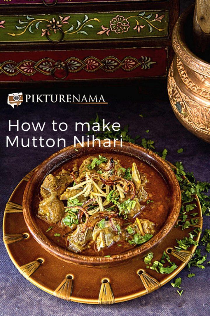How to make Mutton Nihari Pinterest - 1