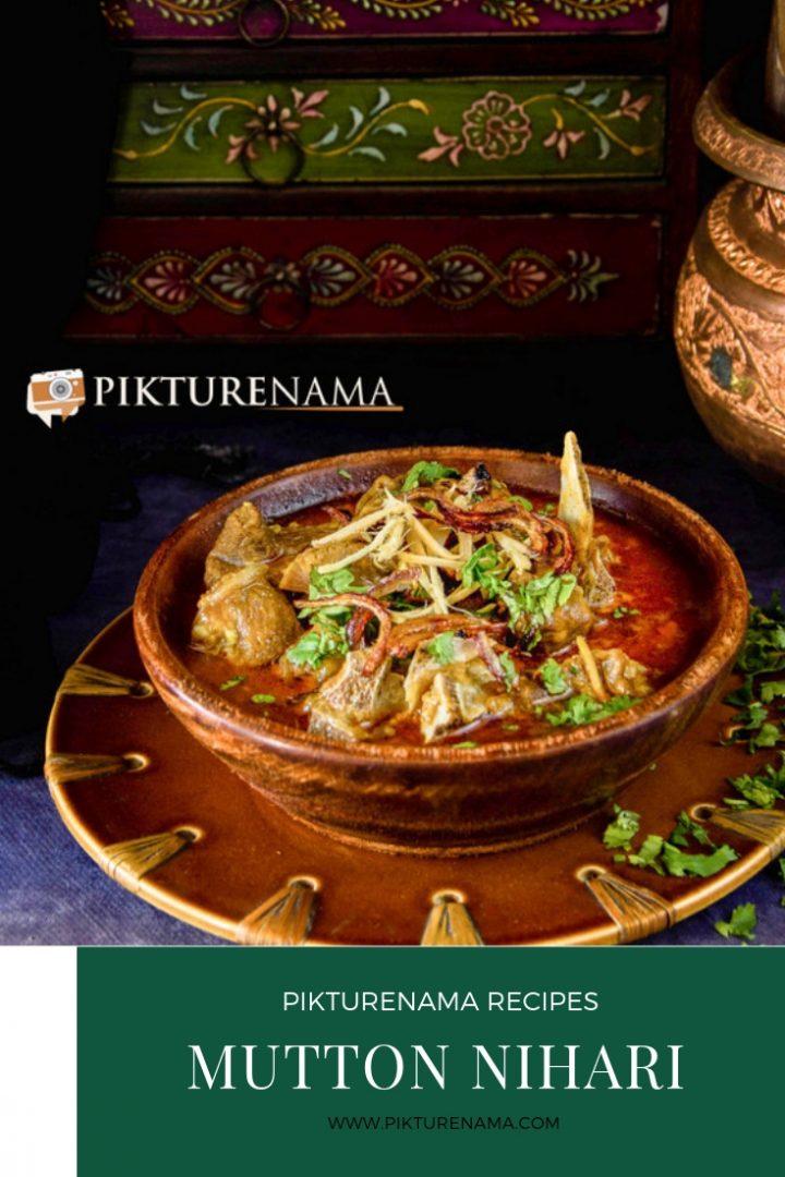 How to make Mutton Nihari Pinterest - 2