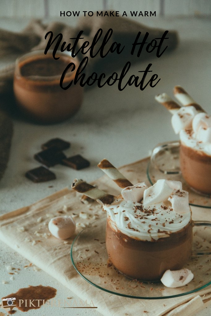 How to make Nutella Hot Chocolate - 3