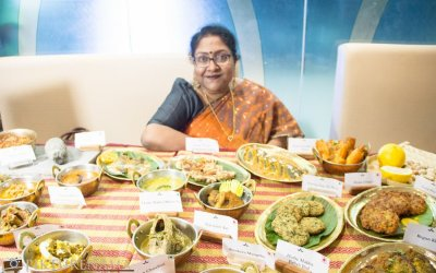 A chat with Nayana Afroz on Bangladeshi cuisine for Ahare Bangladesh at Aaheli Kolkata