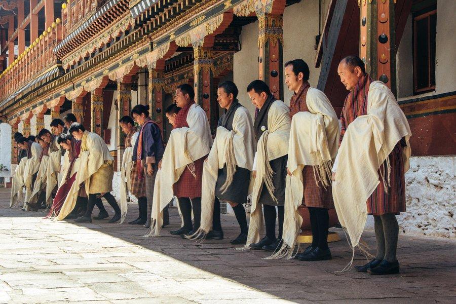 Inside Punakha Dzong Bhutan - 18