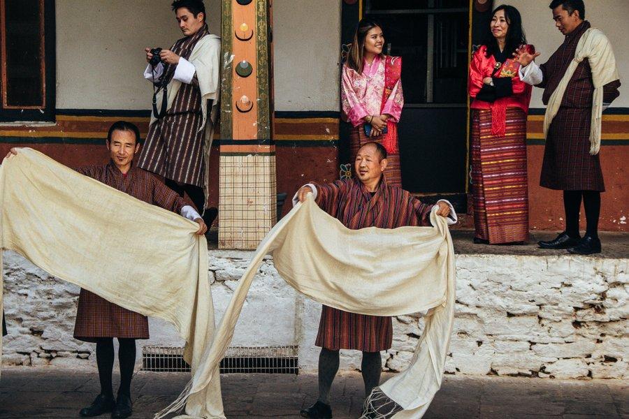 Inside Punakha Dzong Bhutan - 24
