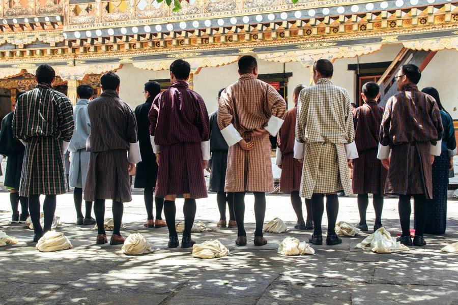Inside Punakha Dzong Bhutan - 27