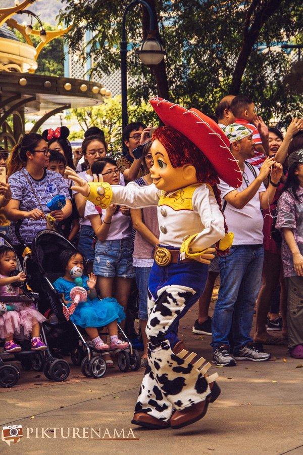 Flights of Fantasy in Hong Kong DIsneyland Toy Story 1