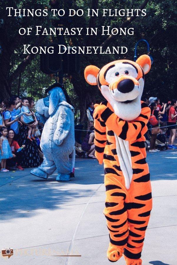 Flights of Fantasy HongKong DIsneyland