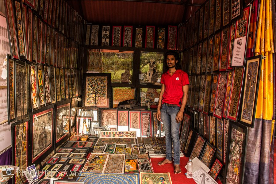 shilparamam Hyderabad madhunbani painting 1