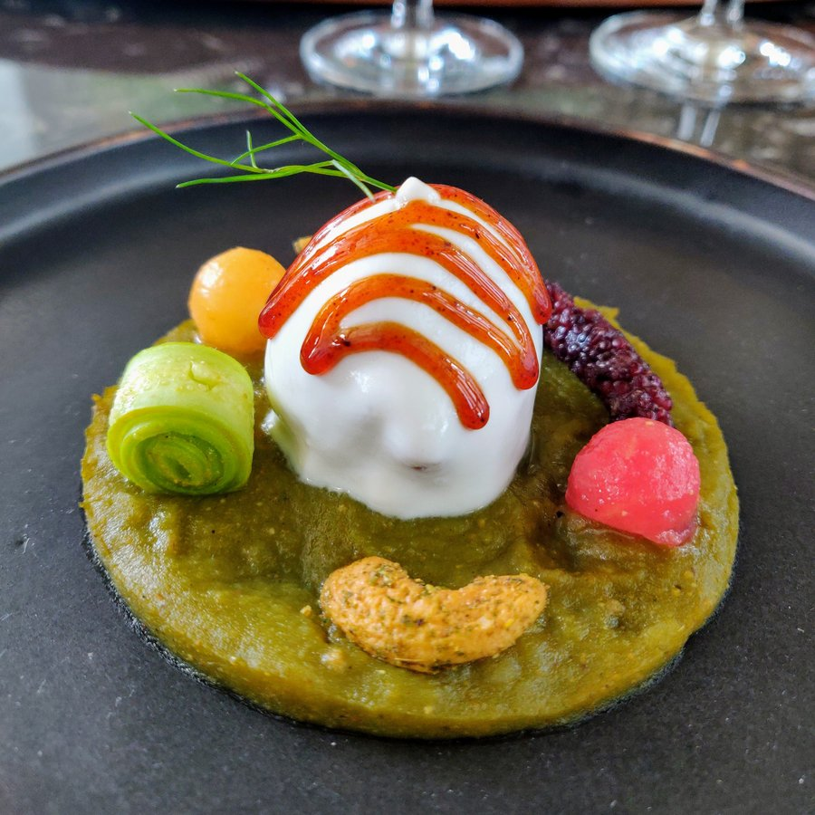 Chef Manish Mehrotra and tasting menu at Indian Accent - 5