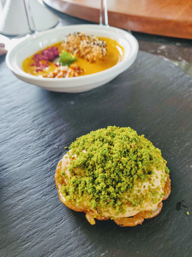Chef Manish Mehrotra and tasting menu at Indian Accent - 17