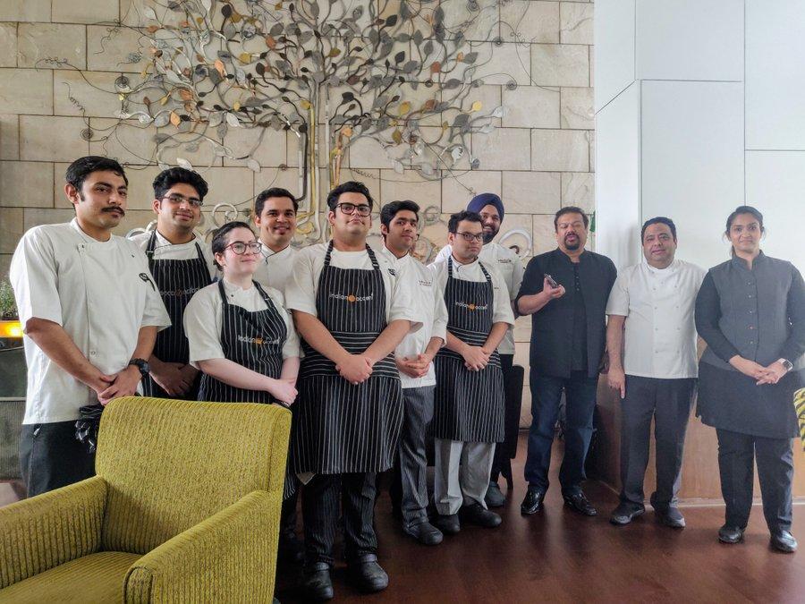 Chef Manish Mehrotra and tasting menu at Indian Accent - 20