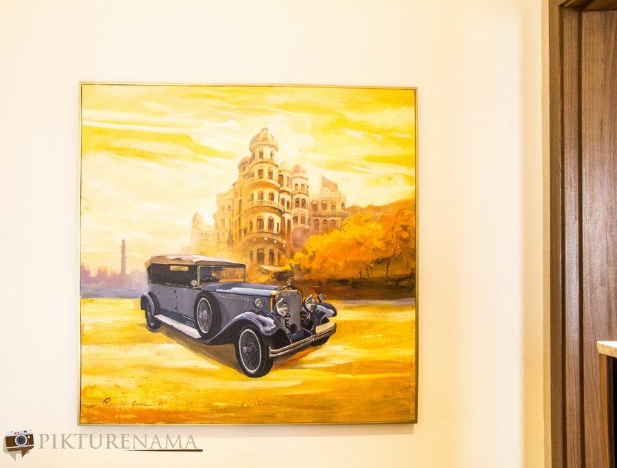 Vivanta Kolkata EM Bypass wall paintings 2
