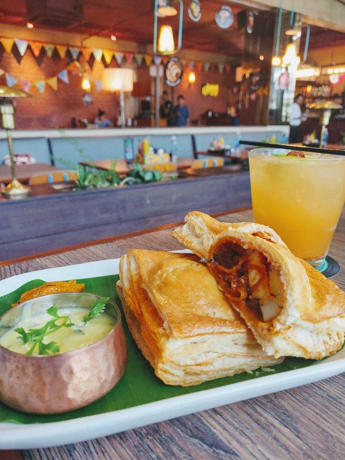Monkey Bar Kolkata New Menu Mutta Puff - 2