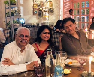 Chef Ananya Banerjee and her friends