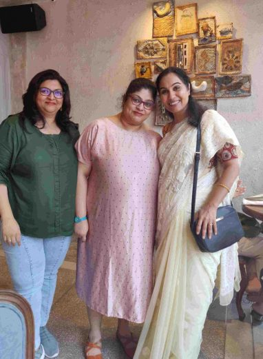 With Mrs. Rema Mohan