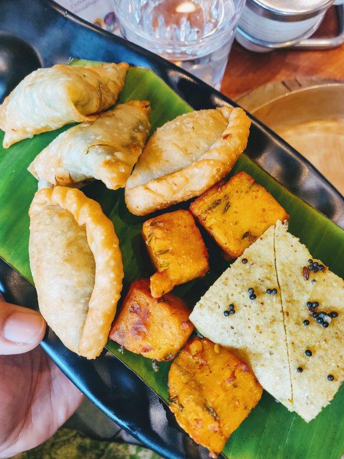 Soam Mumbai - Farsan platter