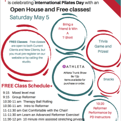 Posture Chair Demo Tree Branch Rocking Join Us For Free Classes On Pilates Day! (may 5, 2018) | Defined