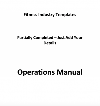Templates for your fitness business