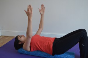 Pilates with Priya: Shoulder Roller Release 4