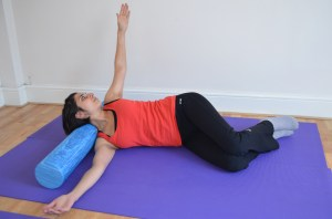 Pilates with Priya: Shoulder Roller Release 6