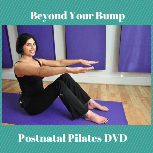 Pilates with Priya: Beyond Your Bump DVD Blog image