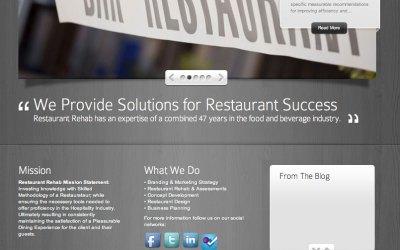 New Website for Restaurant Rehab