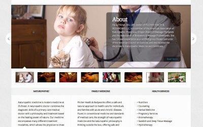 New Website for Pilcher Health & Bodyworks in Portland, Oregon!