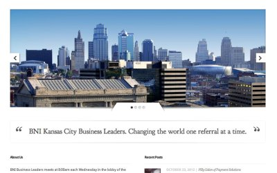 New Website for BNI Business Leaders in Kansas City!