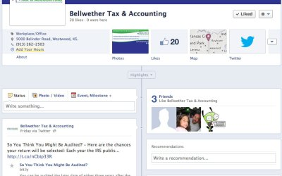 New Social Media for Bellwether Tax & Accounting