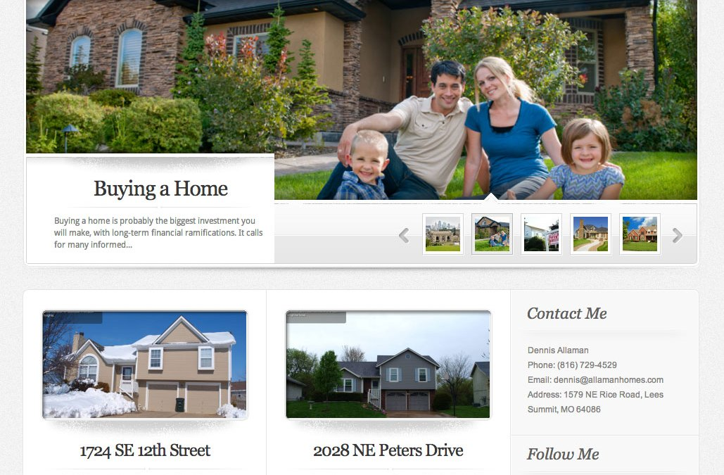 New Website for Allaman Homes