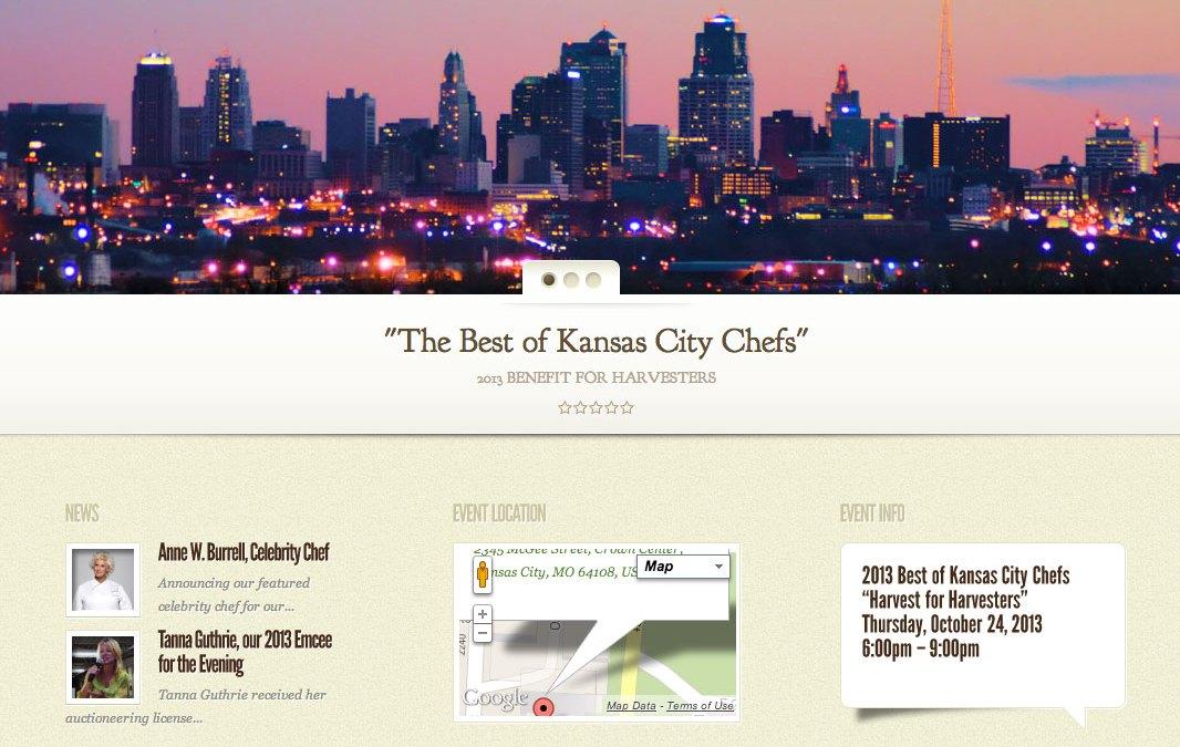New Website for Best of Kansas City Chefs!