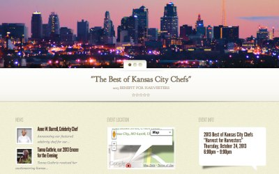 New Website for Best of Kansas City Chefs!