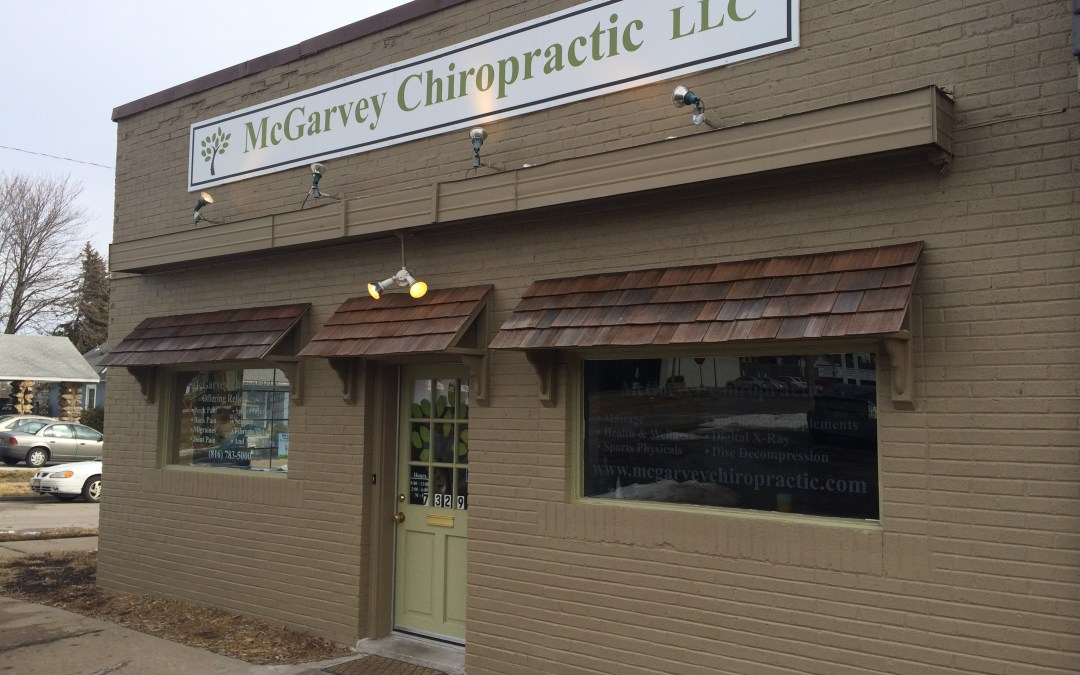 New Photography for McGarvey Chiropractic!