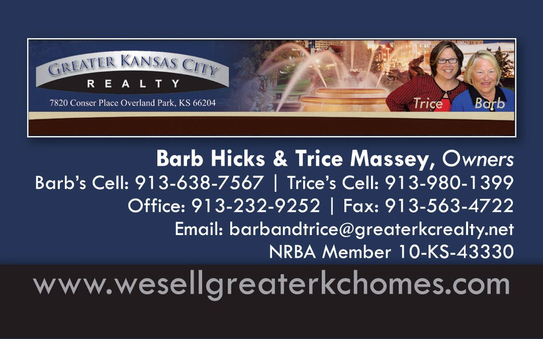 New Business Card Designs for Greater KC Realty!