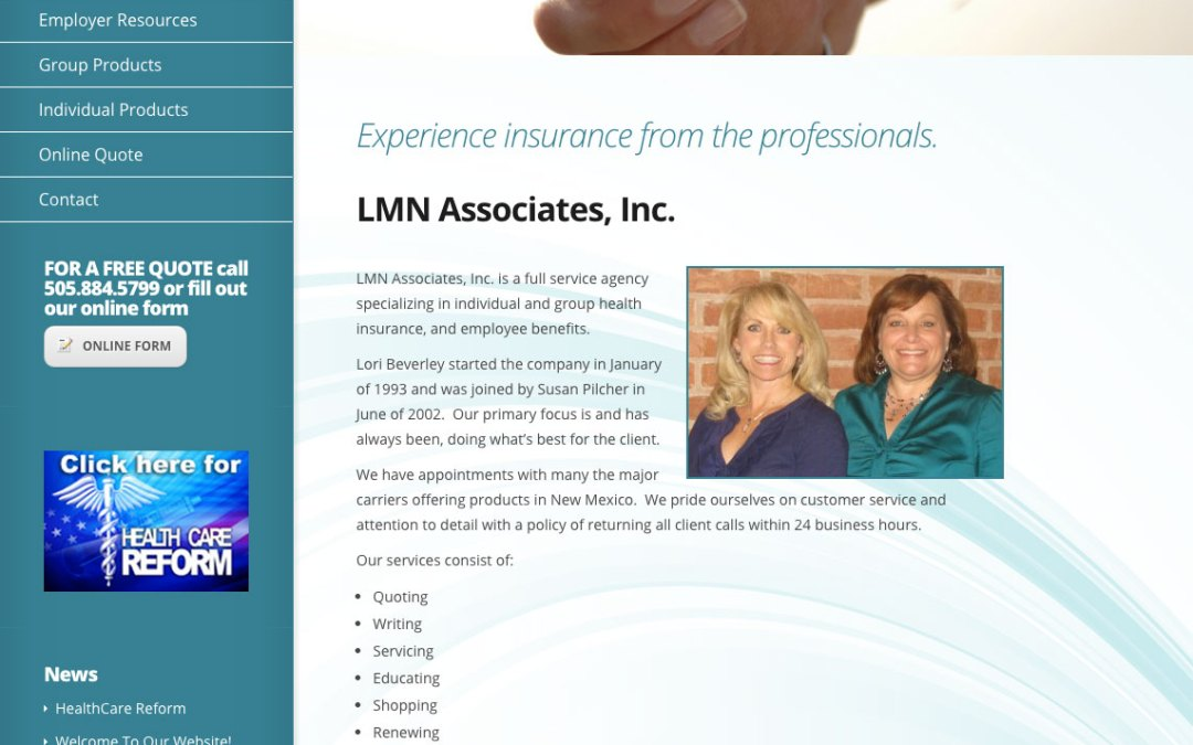 New Website for LMN Associates, Inc.