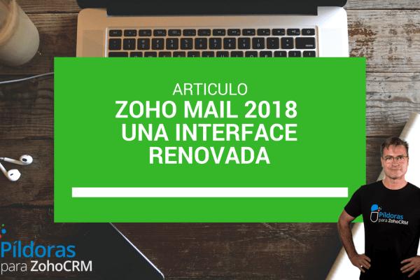 Nuevo ZOHO Mail 2018, una interface renovada